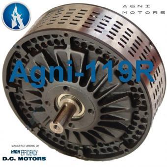 AGNI MOTOR 119R Max 90V / 16 Kw