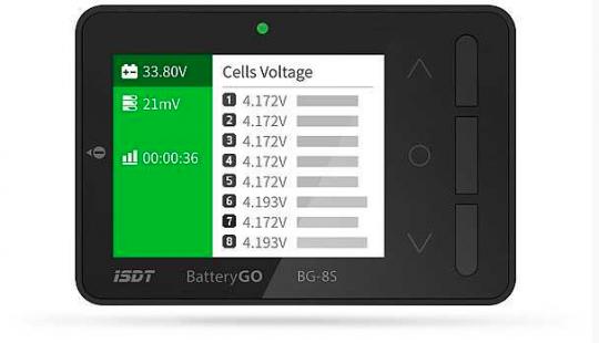 iSDT BatteryGo BG-8S inkl. 9-poliges Anschlusskabel