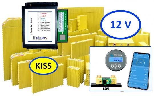 KISS Komplettsystem 12V mit Monitor