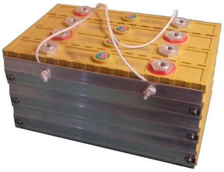 Winston Montage Kit für 4 Zellen (12V) 300Ah Batterie