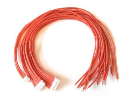 Anschlusskabel (für 30A TinyBMS, Silikonisolierung)