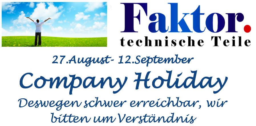 Banner Urlaub